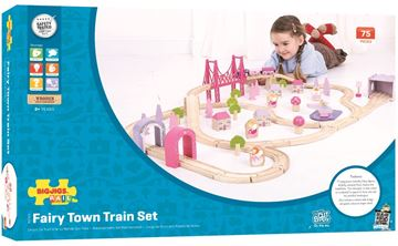 Picture of Bigjigs Rail - Fairy Town Train Set