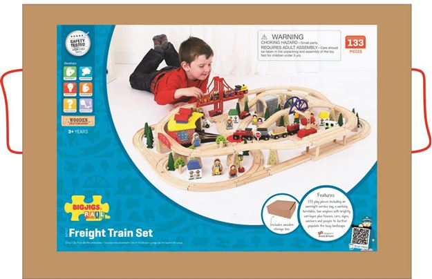 Picture of Bigjigs Rail - Freight Train Set