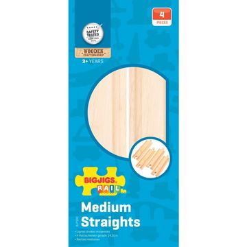 Picture of Bigjigs Rail - Medium Straights