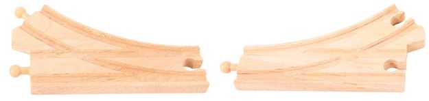 Picture of Bigjigs Rail - Curved Points