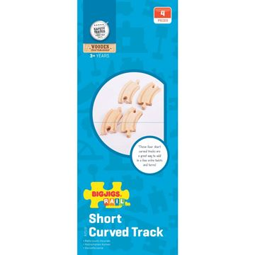 Picture of Bigjigs Rail - Short Curves