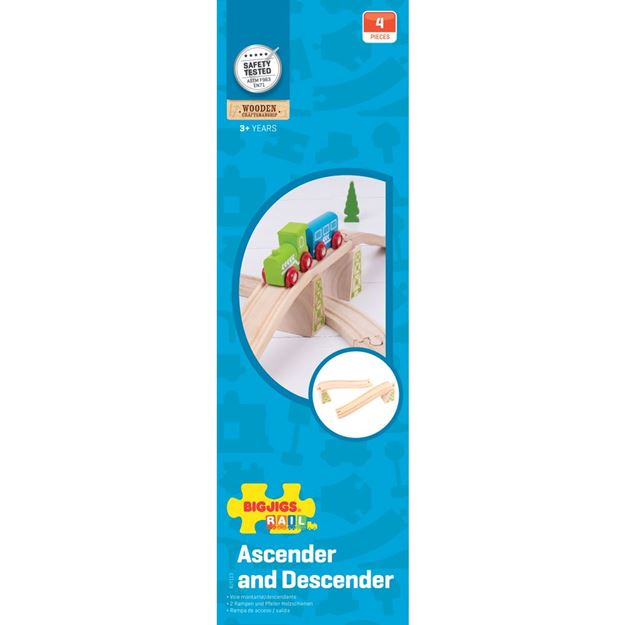 Picture of Bigjigs Rail - Ascender / Descender