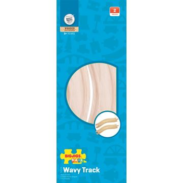 Picture of Bigjigs Rail - Wavy Track