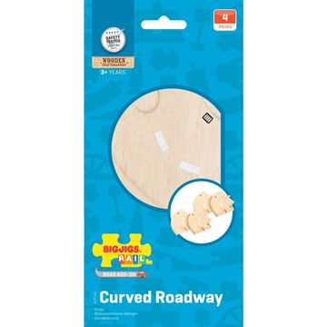 Picture of Bigjigs Rail - Curved Roadway