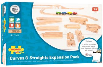 Picture of Bigjigs Rail - Curves & Straights Expansion Pack