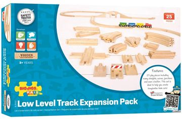 Picture of Bigjigs Rail - Low Level Track Expansion Pack