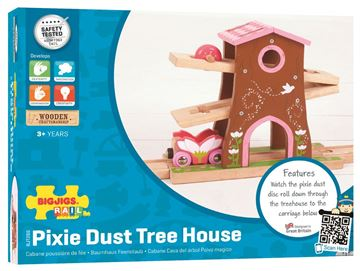 Picture of Bigjigs Rail - Pixie Dust Tree House