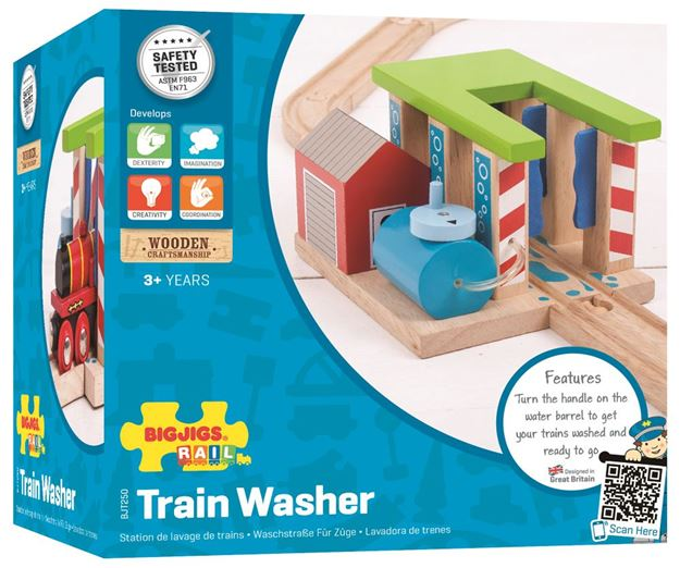 Picture of Bigjigs Rail - Train Washer