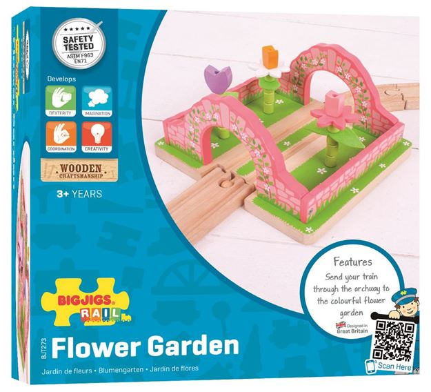 Picture of Bigjigs Rail - Flower Garden