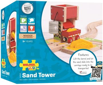 Picture of Bigjigs Rail - Sand Tower
