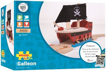 Picture of Bigjigs Rail - Galleon