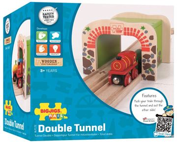 Picture of Bigjigs Rail - Double Tunnel