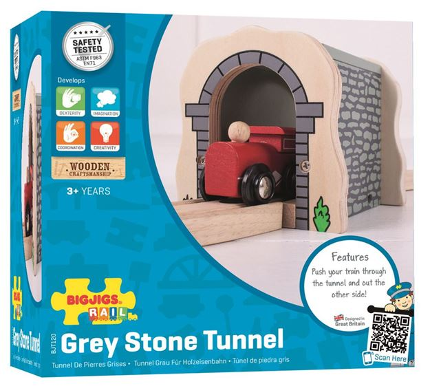 Picture of Bigjigs Rail - Grey Stone Tunnel