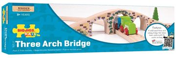 Picture of Bigjigs Rail - Three Arch Bridge