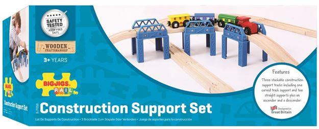 Picture of Bigjigs Rail - Construction Support Set