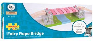 Picture of Bigjigs Rail - Pink Rope Bridge