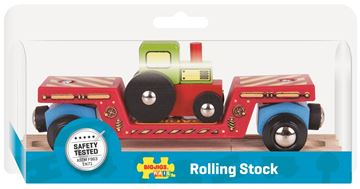 Picture of Bigjigs Rail - Tractor Low Loader