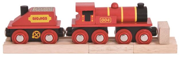 Picture of Bigjigs Rail - Big Red Engine