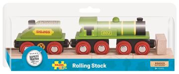 Picture of Bigjigs Rail - Big Green Engine