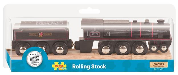 Picture of Bigjigs Rail - Black 5 Engine