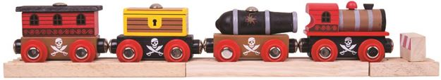 Picture of Bigjigs Rail - Pirate Train