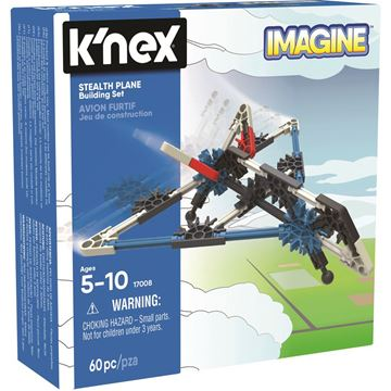 Picture of Knex - Stealth Plane Starter Vehicle