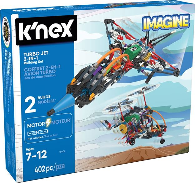 Picture of Knex - Turbo Jet 2 In 1
