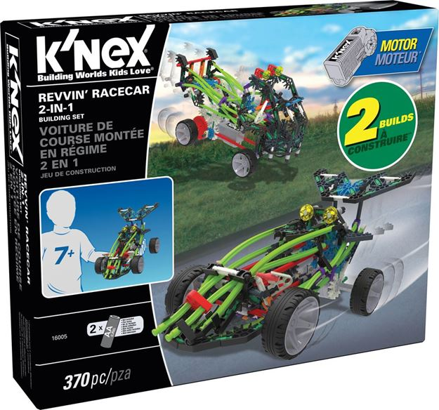 Picture of Knex - Revvin' Race Car 2 In 1