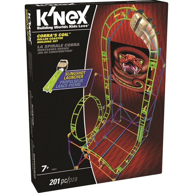 Picture of Knex - Cobra's Coil Roller Coaster
