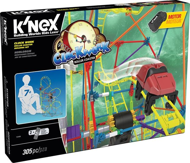 Picture of Knex - Clockwork Roller Coaster