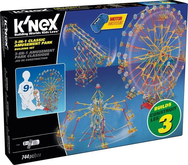 Picture of Knex - 3 In 1 Amusement Park