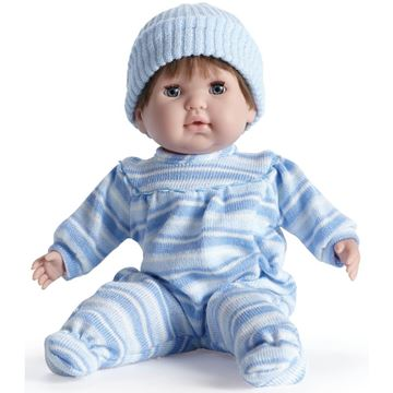 Picture of Dolls - Soft Body In Blue Outfit With Brown Hair