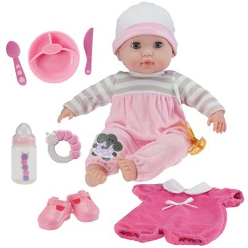 Picture of Dolls - Single Soft Body Girl Gift Set (38cm)