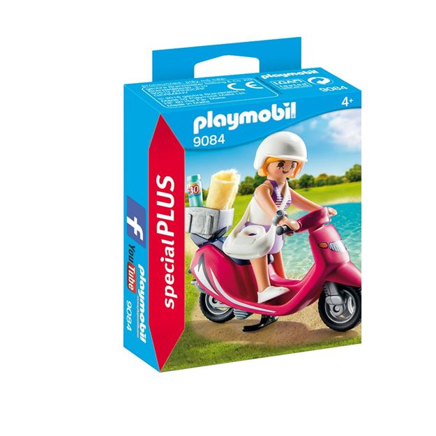 Picture of Playmobil - Beachgoer With Scooter