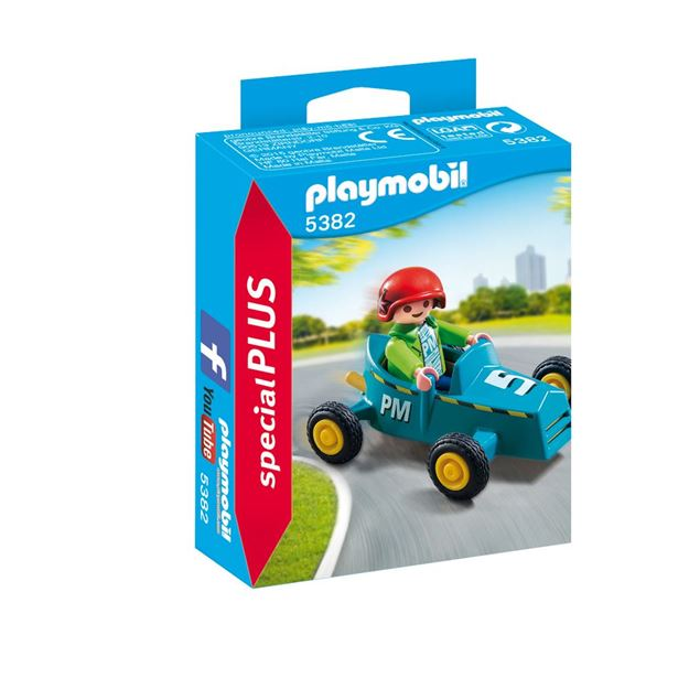 Picture of Playmobil - Boy With Go-Kart