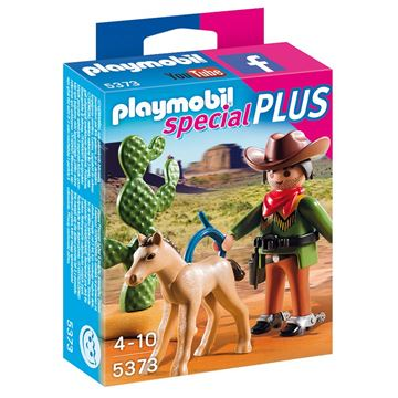 Picture of Playmobil - Cowboy With Foal