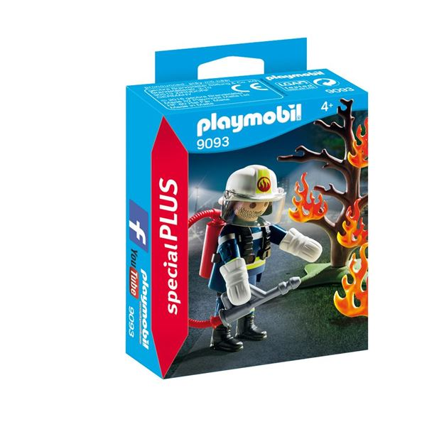Picture of Playmobil - Fireman With Tree