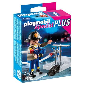 Picture of Playmobil - Fireman With Hose