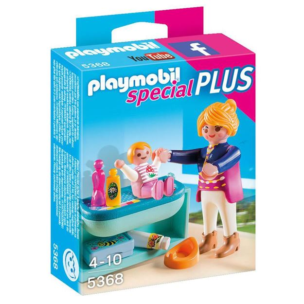 Picture of Playmobil - Mother & Child With Change Table