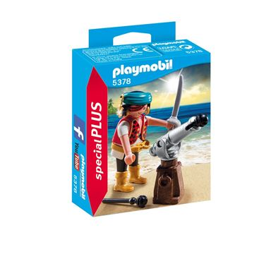 Picture of Playmobil - Pirate With Cannon