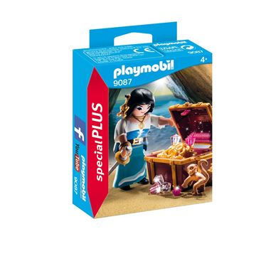 Picture of Playmobil - Pirate With Treasure