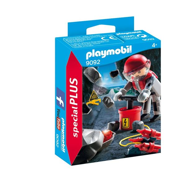 Picture of Playmobil - Rock Blaster With Rubble