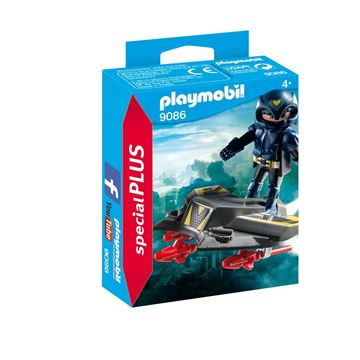 Picture of Playmobil - Sky Knight With Jet
