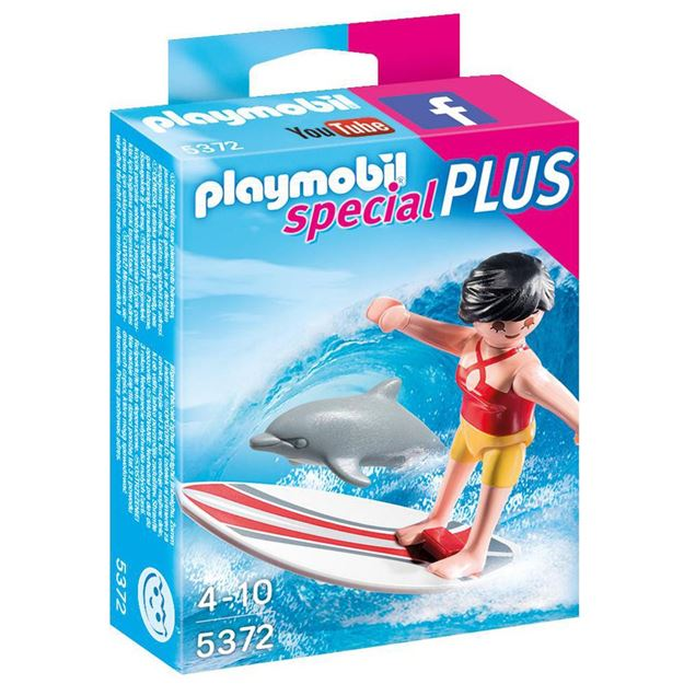 Picture of Playmobil - Surfer With Surf Board