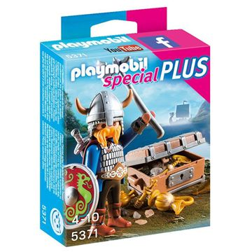 Picture of Playmobil - Viking With Treasure