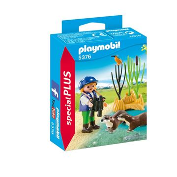 Picture of Playmobil - Young Explorer With Otter