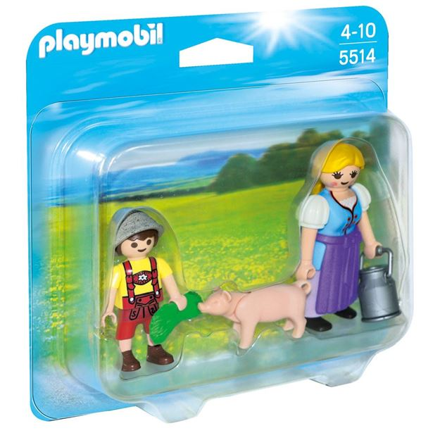 Picture of Playmobil - Country Woman & Boy