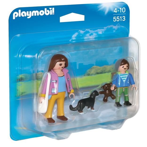 Picture of Playmobil - Mother & School Child Duo
