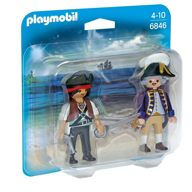 Picture of Playmobil - Pirate & Soldier Duo