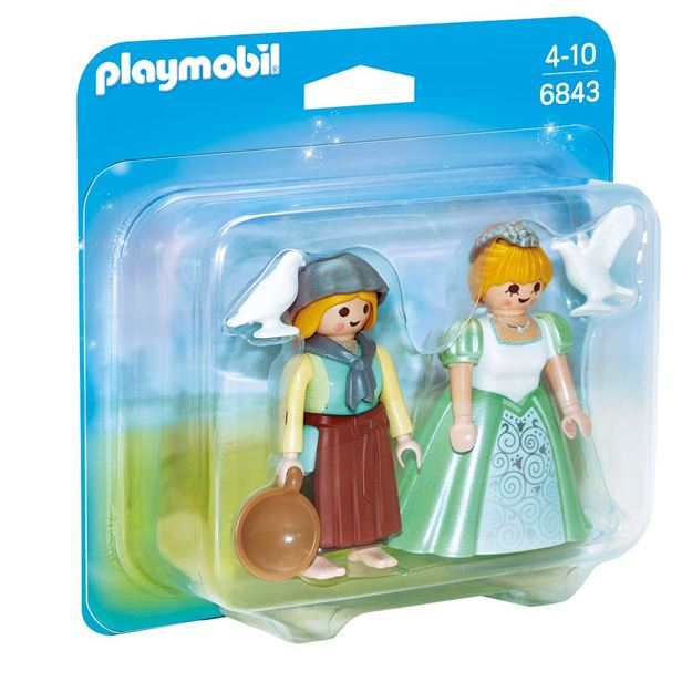 Picture of Playmobil - Princess & Handmaid Duo